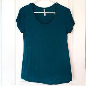 Dark Teal Short Sleeve Shirt